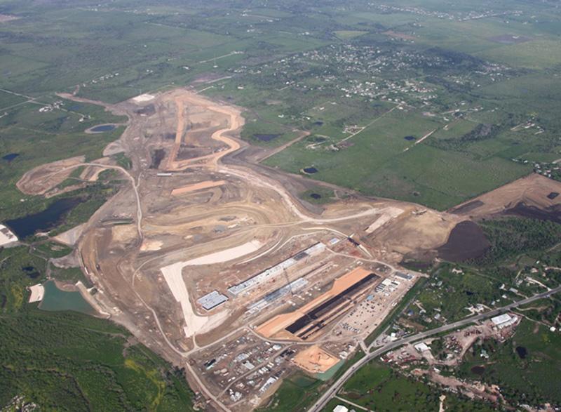 Imagem aérea do Circuito das Américas
