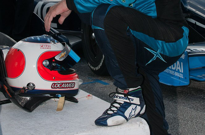 Sapatilha de Rubens Barrichello