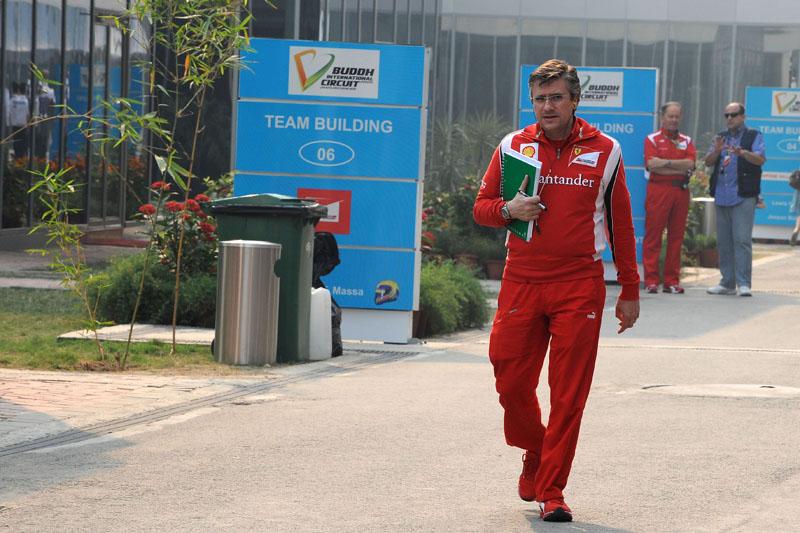 O diretor técnico da Ferrari, Pat Fry