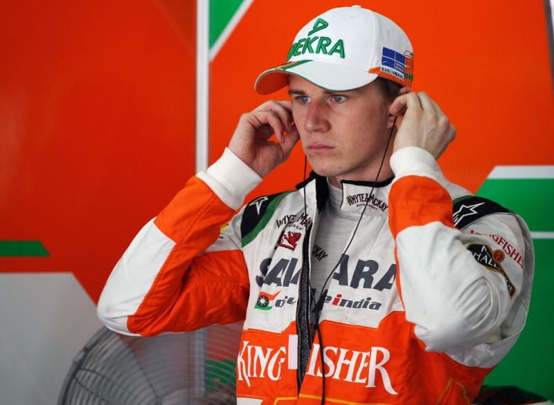 Nico ficou 16 meses sem correr um GP de F-1