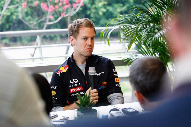 Vettel não se diz preocupado com o início difícil