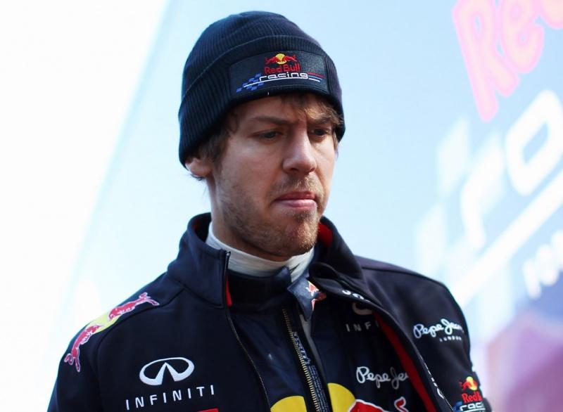Vettel não enfrenta uma boa temporada por enquanto