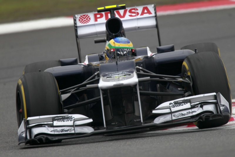 Senna não se entendeu com o acerto de sua Williams