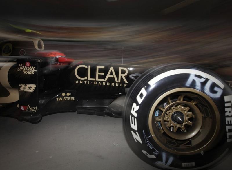 Lotus não teve um bom desempenho nesta sexta