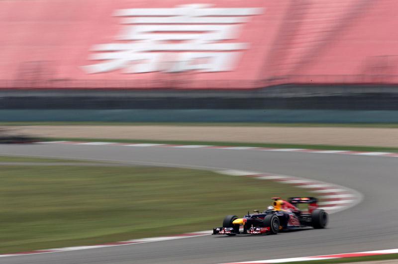 Vettel disse que ficou feliz com sua volta na classificação
