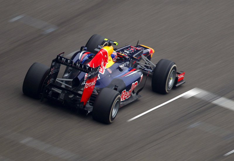Webber terminou todas as provas do ano em quarto