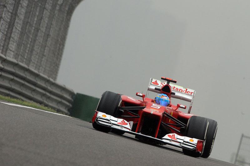 Alonso caiu para terceiro no Mundial