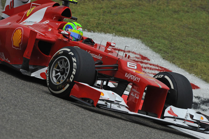 Massa ainda não marcou pontos em 2012