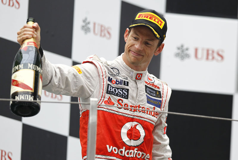 Button mostrou certo desapontamento com o segundo lugar