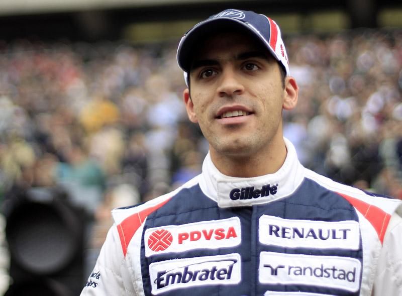 Maldonado teve seu melhor resultado na carreira