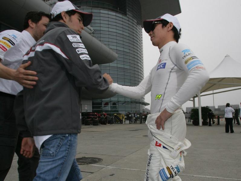 Perez e Kobayashi