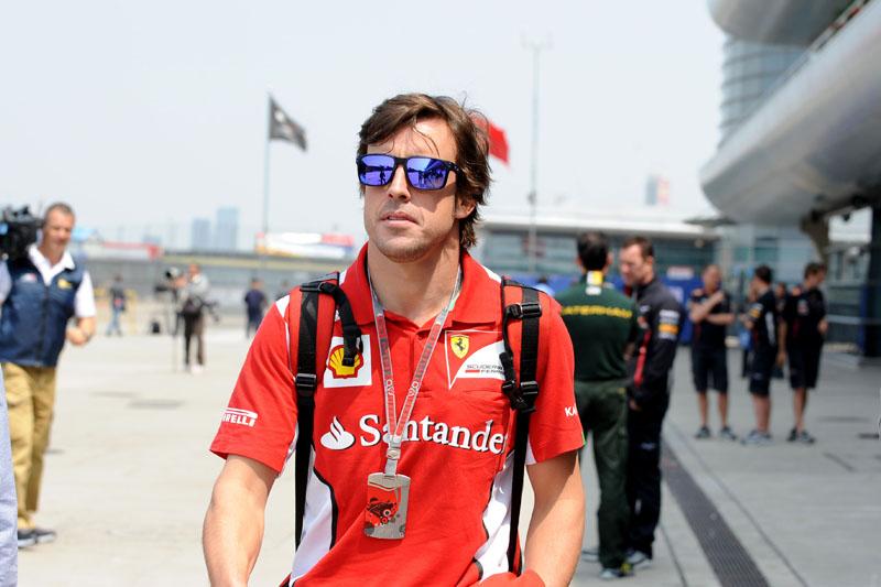 Alonso é terceiro no campeonato