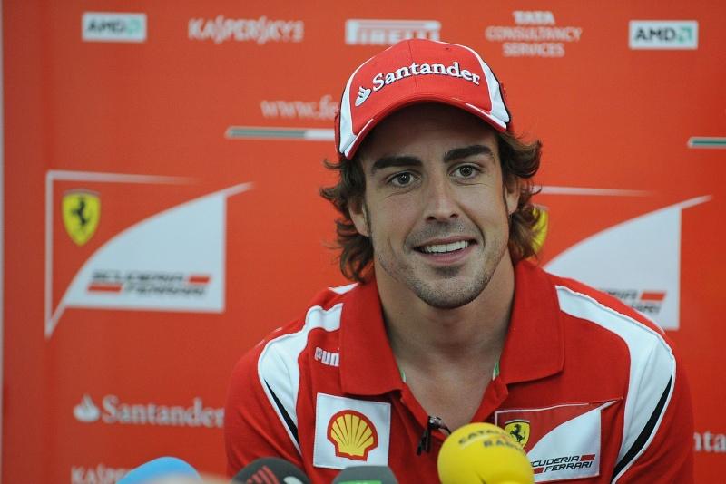 Espanhol está tranquilo: Ferrari mantém bom ritmo atrás de Red Bull e McLaren