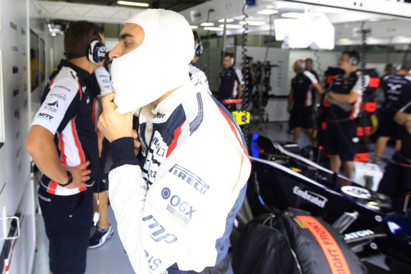 Maldonado foi o 15º colocado na sexta-feira
