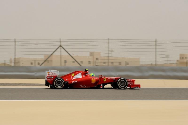 Massa acelera na pista onde venceu duas vezes