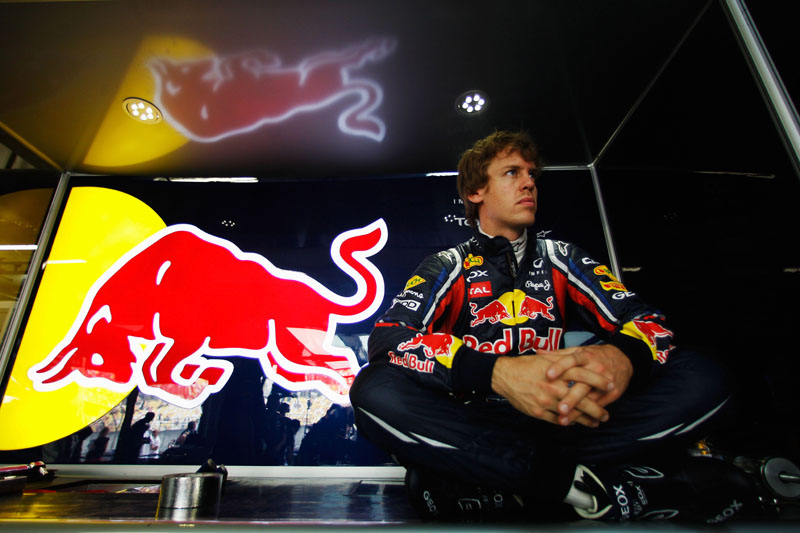 Sebastian Vettel liderou os dois treinos livres de hoje