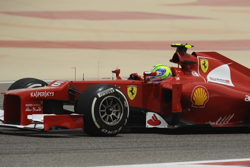 Massa pontua pela primeira vez em 2012