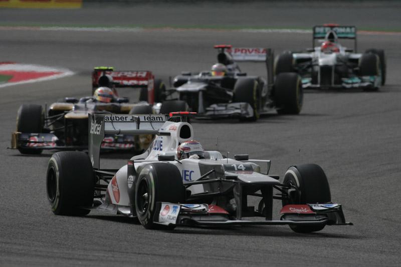 Kobayashi reclamou de largada e da falta de velocidade