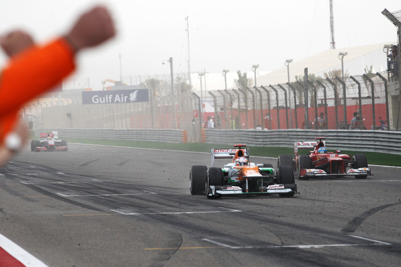 Chegada com Alonso foi apertada para Di Resta