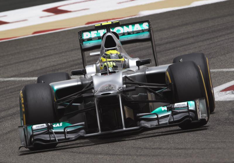 Rosberg manteve a quinta posição