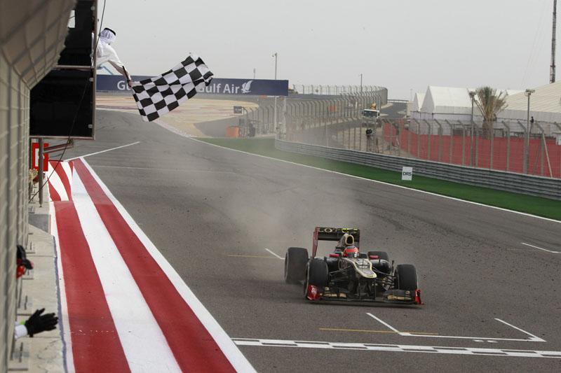Grosjean conquistou seu primeiro pódio