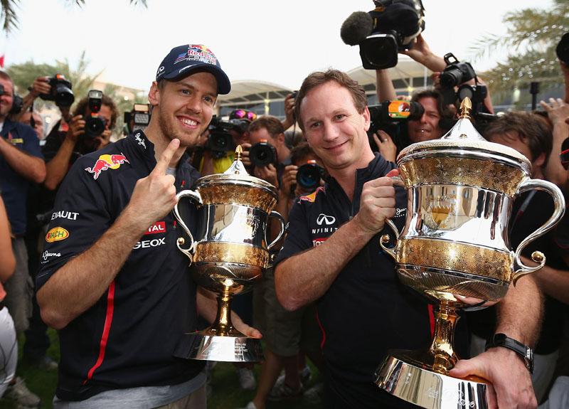 Vettel venceu a primeira do ano