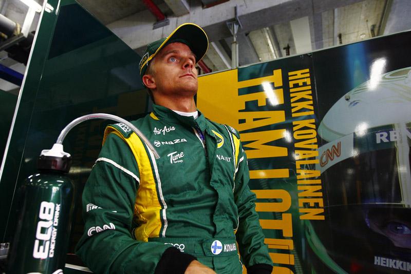 Kovalainen surpreendeu no primeiro treino livre para o GP da China