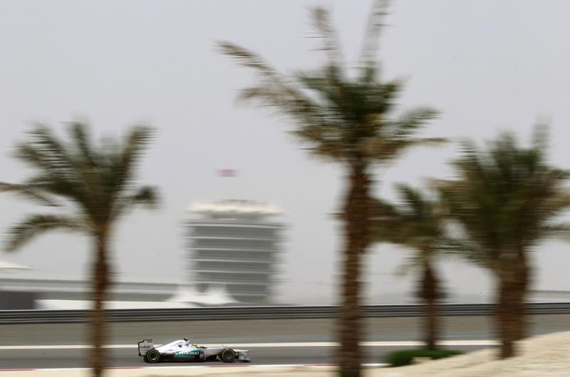 Nico Rosberg chegou em 5º no Bahrein
