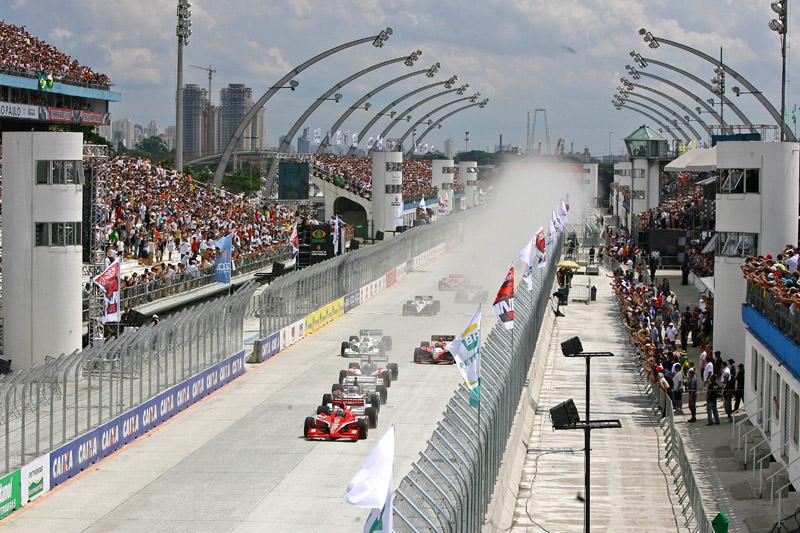Largada da edição de 2010 da SP Indy 300