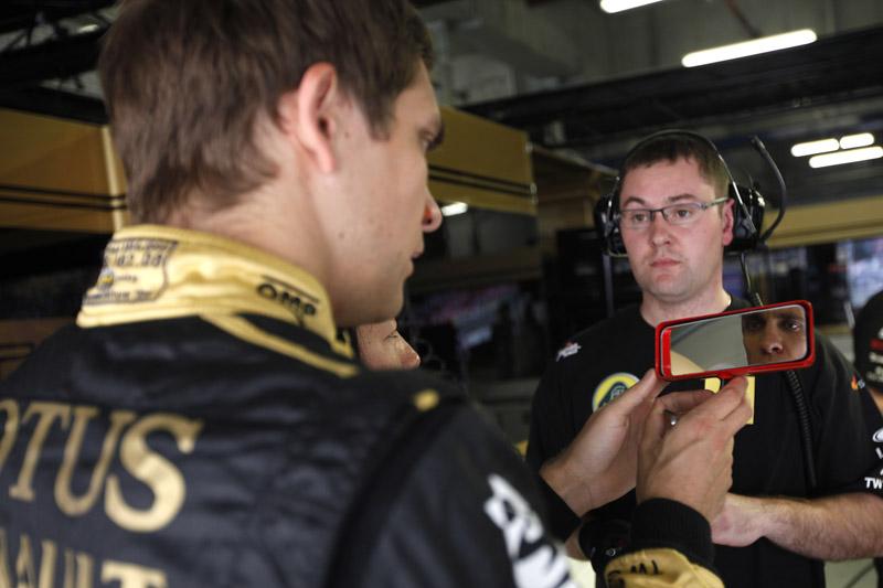 Petrov foi o nono colocado em ambas as sessões de treinos para o GP da China