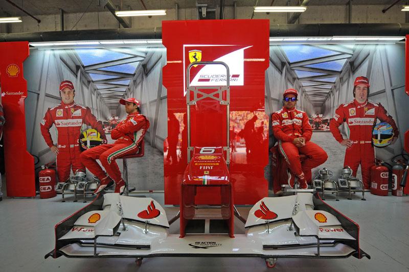 A Ferrari tem menos da metade dos pontos da Red Bull após quatro etapas