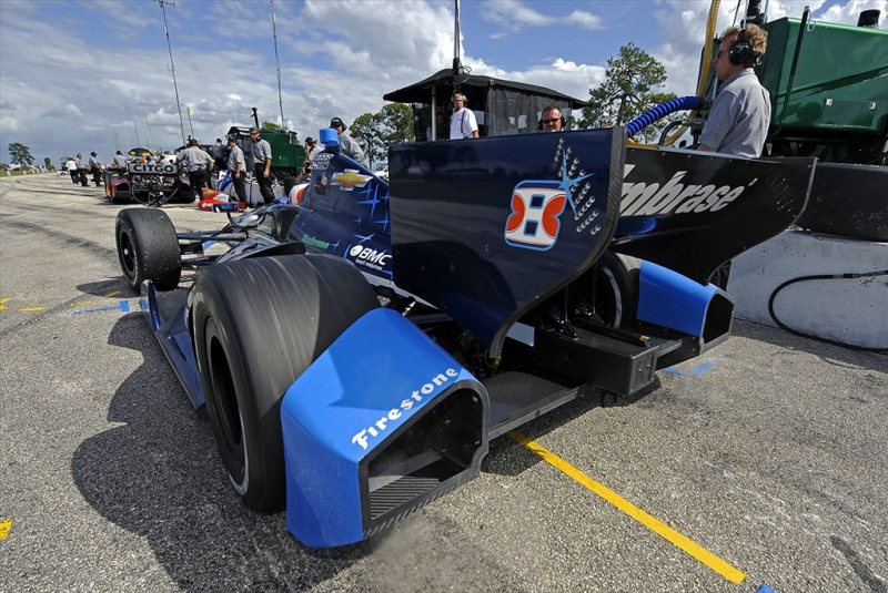 Chassi da Indy é completamente novo