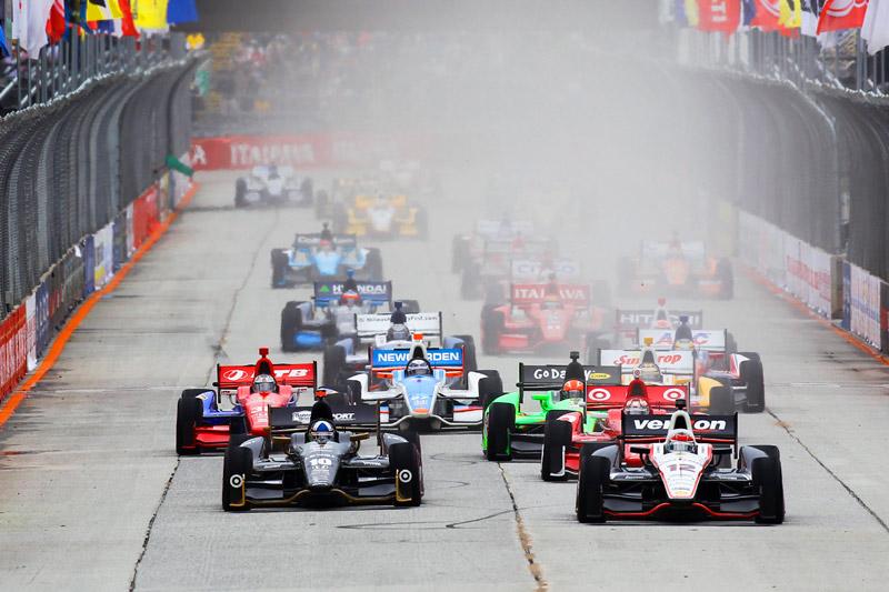 Largada da São Paulo Indy 300 2012