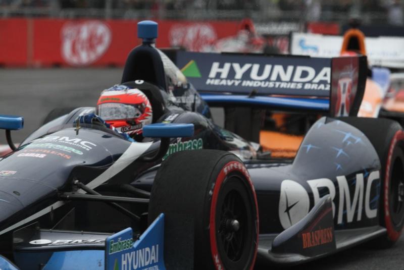 Barrichello chegou a andar em terceiro
