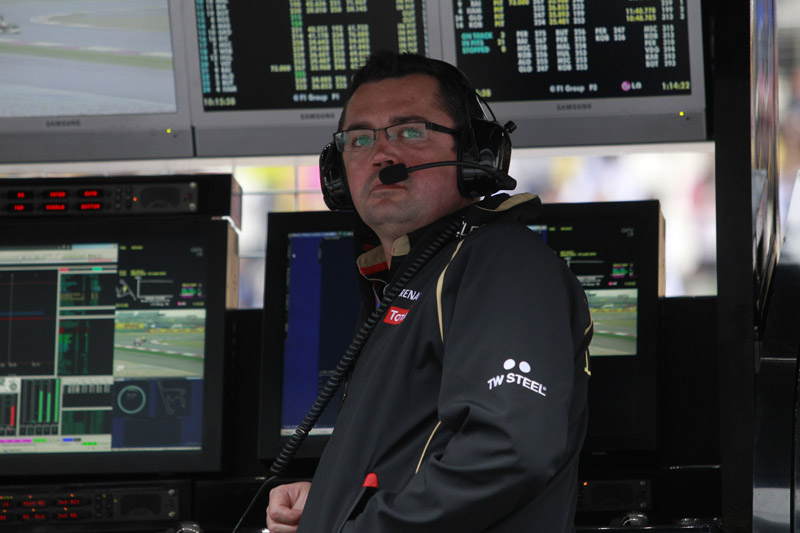 O chefe da Lotus, Eric Boullier