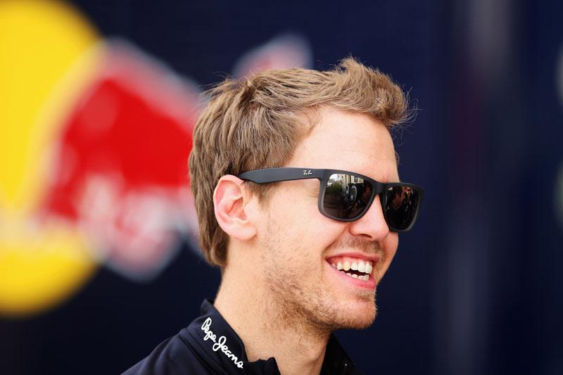 Vettel estará no RB8 na quarta e na quinta