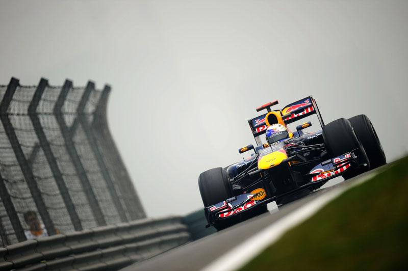 Vettel liderou todos os treinos livres do GP da China