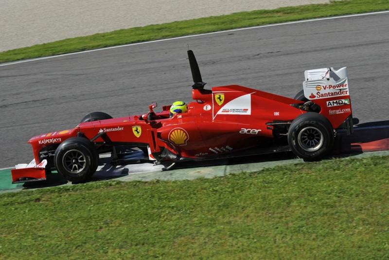 Felipe Massa foi o quinto hoje em Mugello
