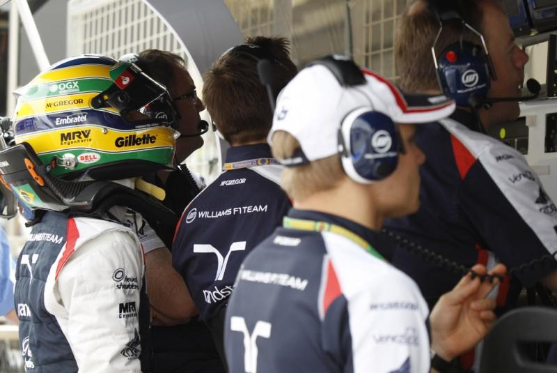 Senna foi o última na sessão de hoje