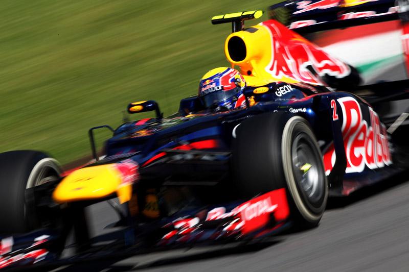 Webber fez quatro quartos lugares nesse ano