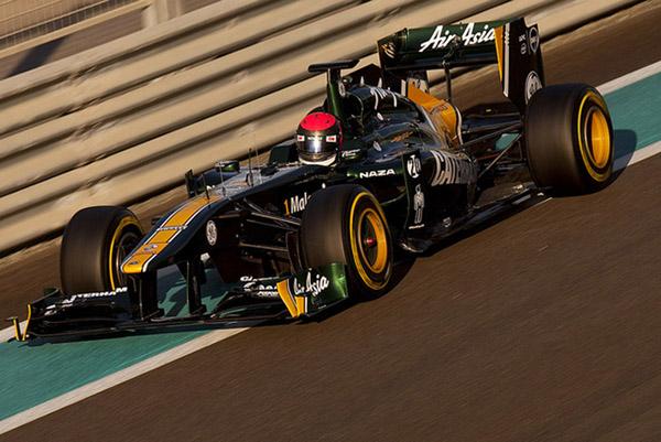 Rossi andando em Abu Dhabi no fim do ano passado