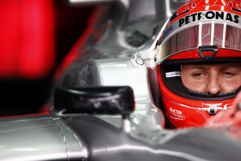 Schumacher está insatisfeito com os