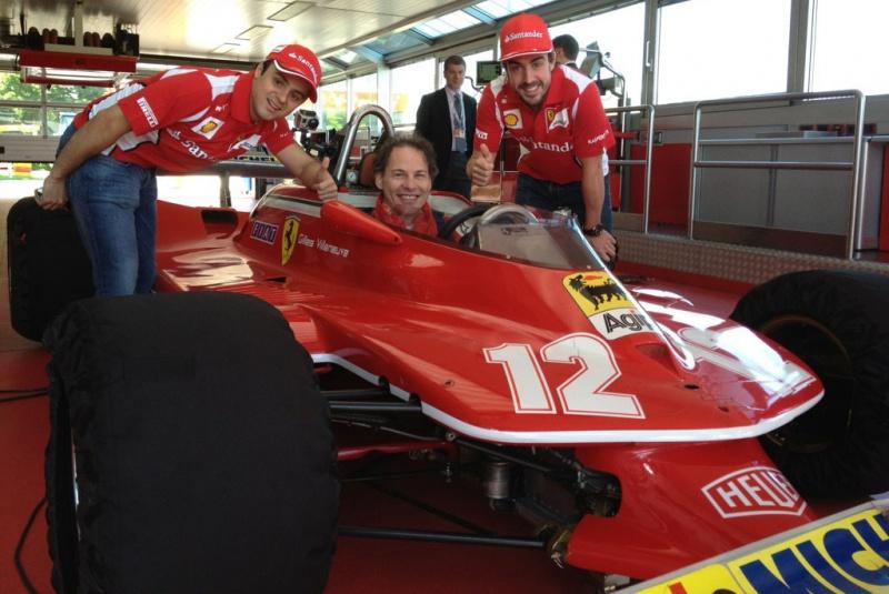 Massa junto com Alonso para ver Villeneuve