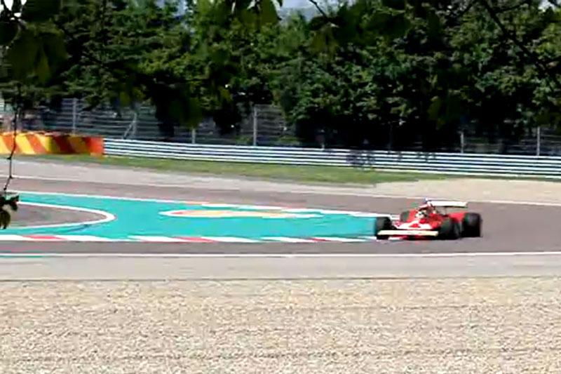Villeneuve na pista de Fiorano