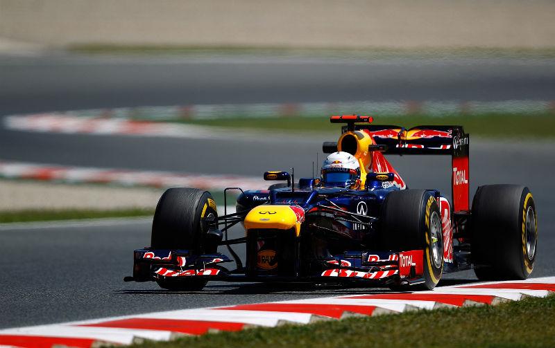 Vettel fez sua volta nos últimos instantes