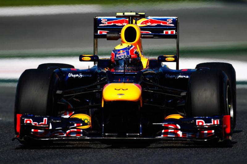Webber caiu ainda no Q2 na Espanha