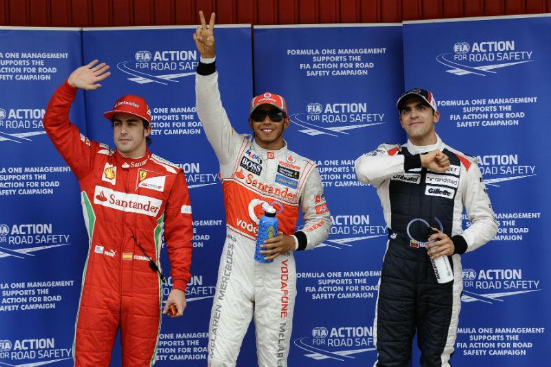 Top 3 do grid foi marcado por surpresas