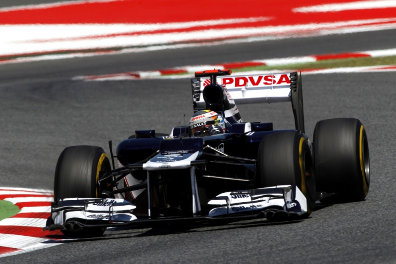 Maldonado: primeira pole da carreira