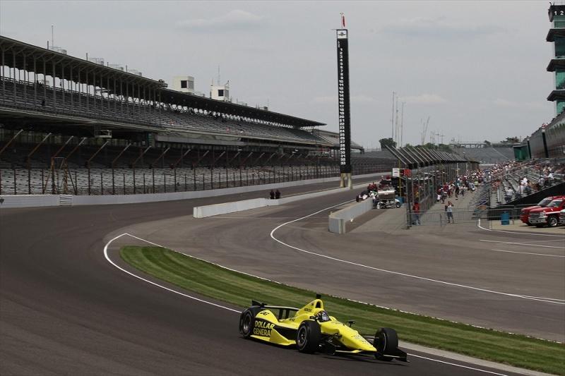 Newgarden vem com pintura diferente para a Indy 500