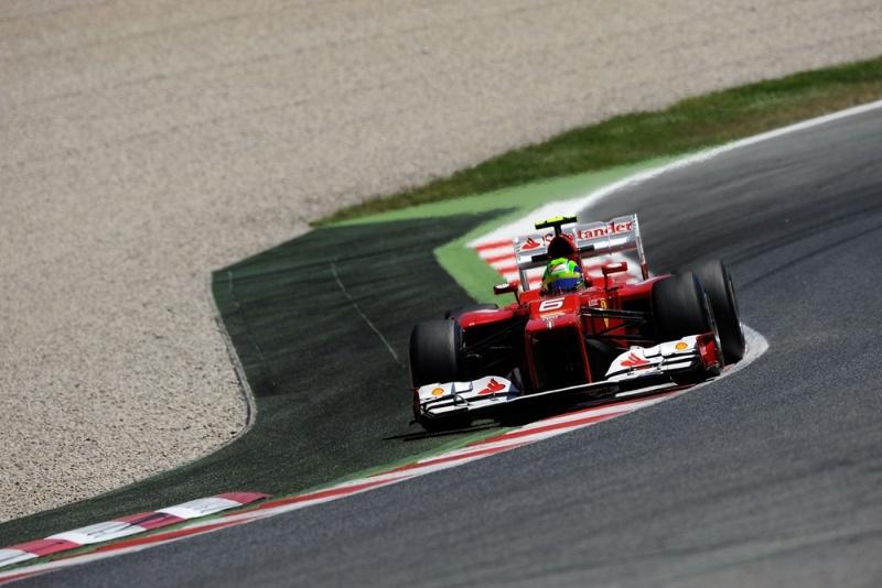 Massa durante GP da Espanha